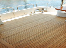 Fort Lauderdale Synthetic Teak Decking & Flooring for Boats - Custom Marine Carpentry