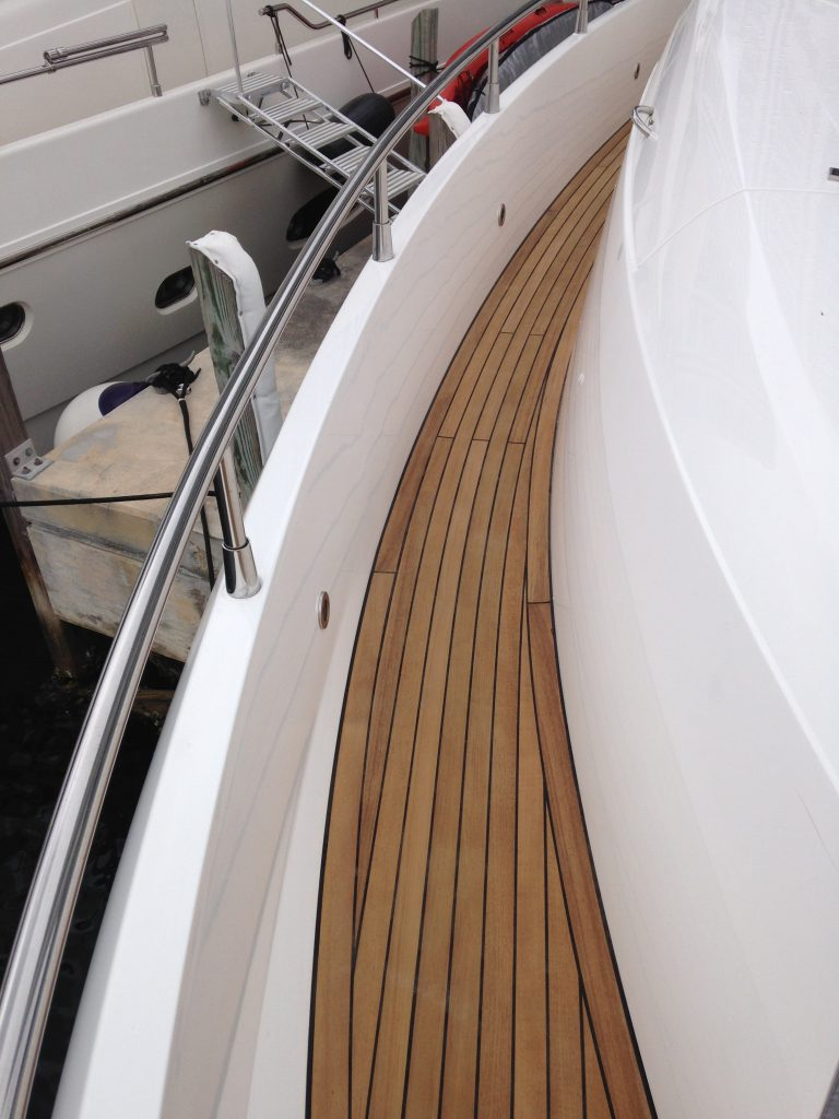 teak decking sunseeker boat flooring