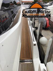 Marine Carpentry, Teak Decking, Marine Decking ,Boat flooring in Fort Lauderdale