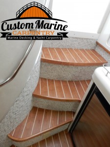 Interior Boat Flooring built foe Custom Marine Carpentry in Light Point