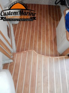 Interior Marine Flooring built for CMC