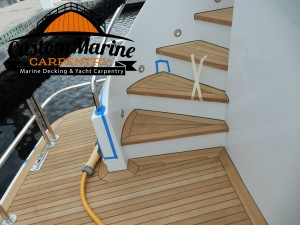 Look this Marine Carpentry project built for Custom Marine Carpentry