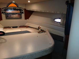 Marine Carpentry Repairs before, Yacht Carpentry
