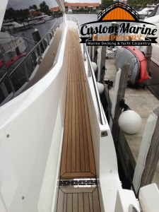 Marine Carpentry, Teak Decking, Boat Flooring, Fort Lauderdale