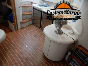Marine Flooring by Custom Marine Carpentry in Light Point