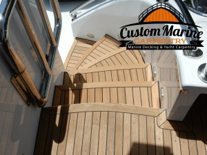 Teak Decking -Teak Sanding Repairs, Marine Carpentry