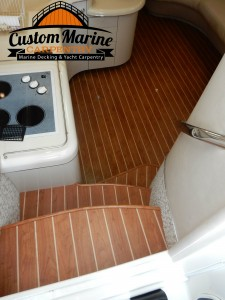 look this Amtico Interior Boat Flooring for Custom Marine Carpentry