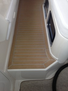 "62"" Sea Ray Synthetic teak decking panel"