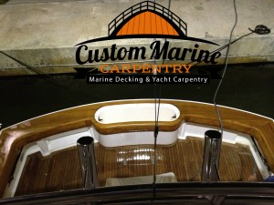 teak coverboards - Marine Carpentry services in fort lauderdale
