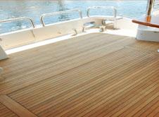 Fort Lauderdale Synthetic Teak Decking & Flooring for Boats - Custom Marine Carpentry