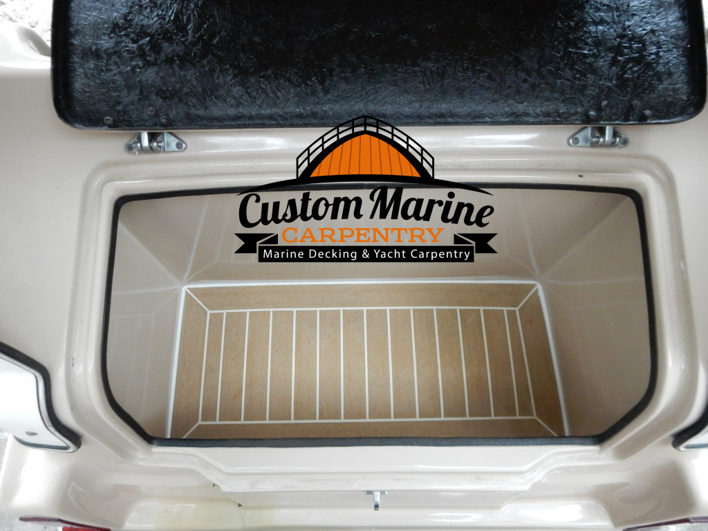 Permateek Boat Flooring Built By custom Marine Carpentry in Ft Lauderdale