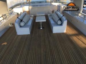 155' Cheoy lee Teak deck