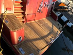 155 qing Teak deck