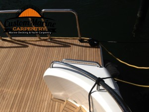 Marine Carpentry, Teak Decking, Custom Marine Carpentry