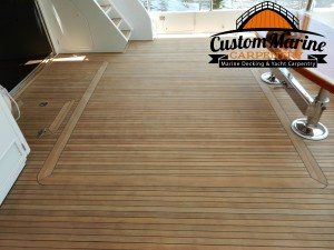 Teak Decking -Teak Sanding Repairs, Boat Flooring, Miami