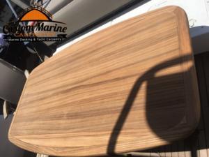 Quartersawn Teak Hardwood Table