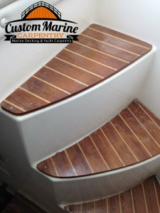 interior boat flooring in miami byCustom Marine Carpentry